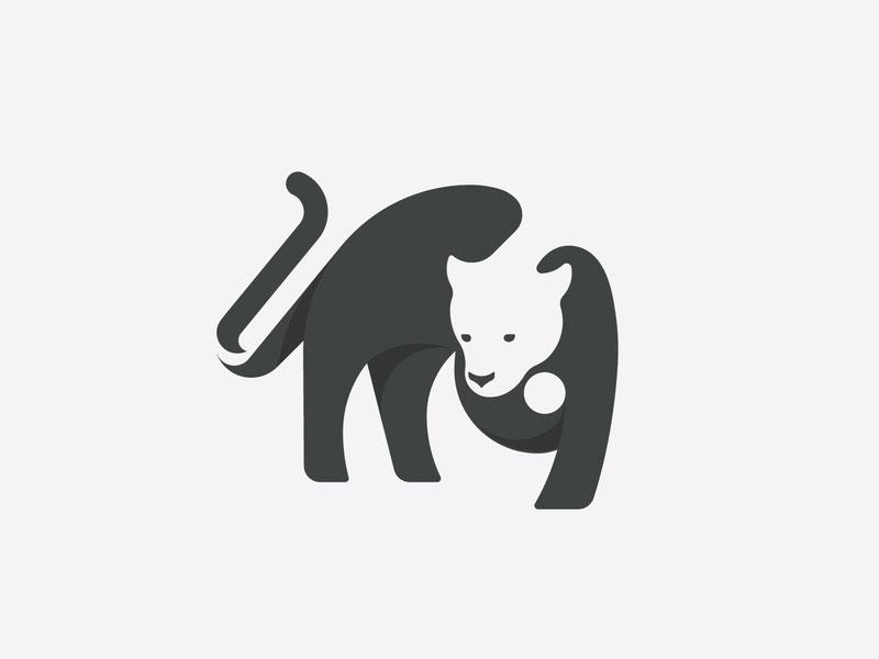 Feline Logo Design by Ghitea Florin