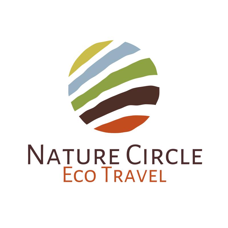 Nature Circle Logo - Eco Travel