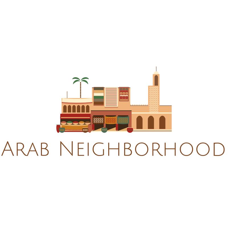 Arab Neighborhood Logo