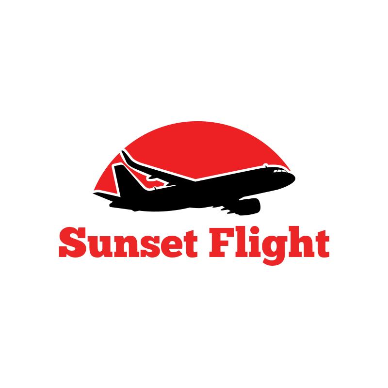 Sunset Flight Logo