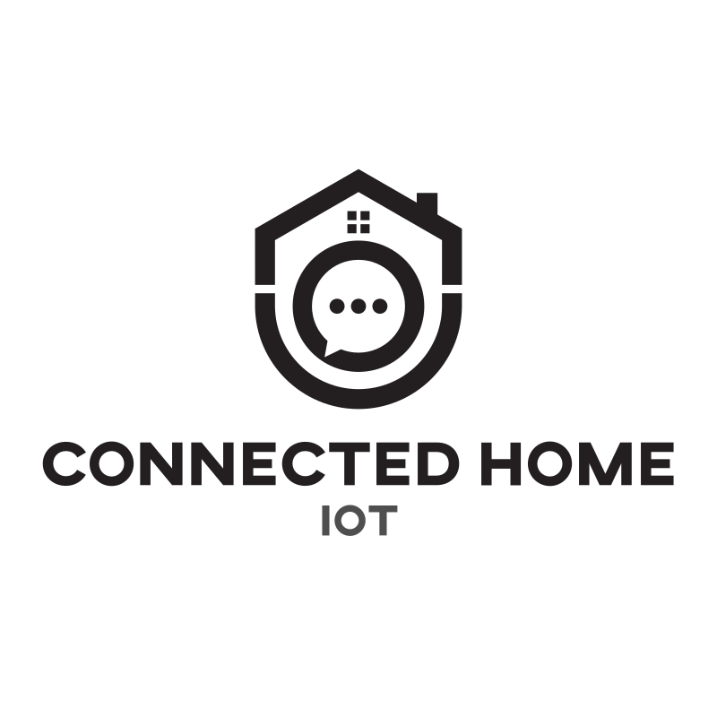 Connected Home Logo Design