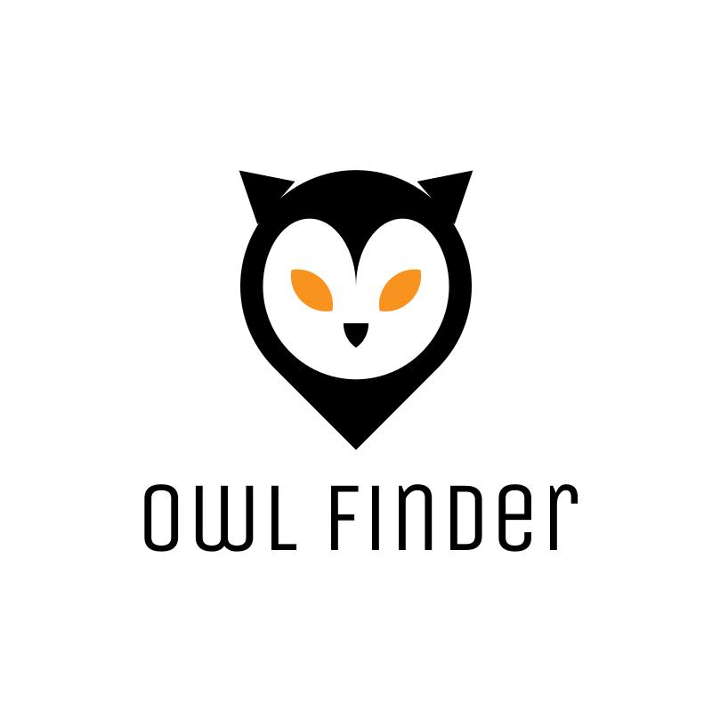 Owl Finder Logo Design