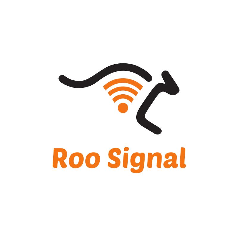 Roo Signal Logo Design