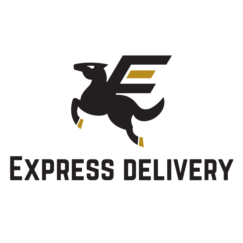 Flying Horse Express Delivery logo