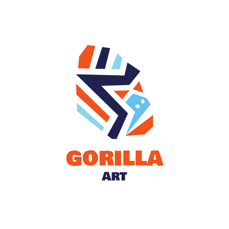 Gorilla Art Logo Design