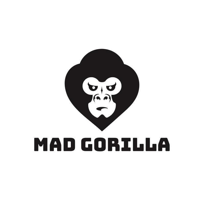 Mad Gorilla Logo Design