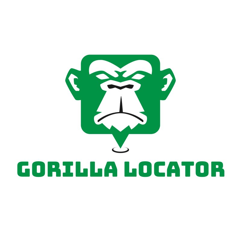 Gorilla Locator Logo Design
