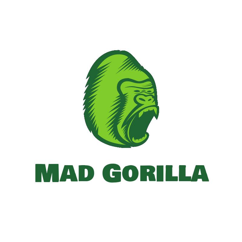 Gorilla Roar Logo Design