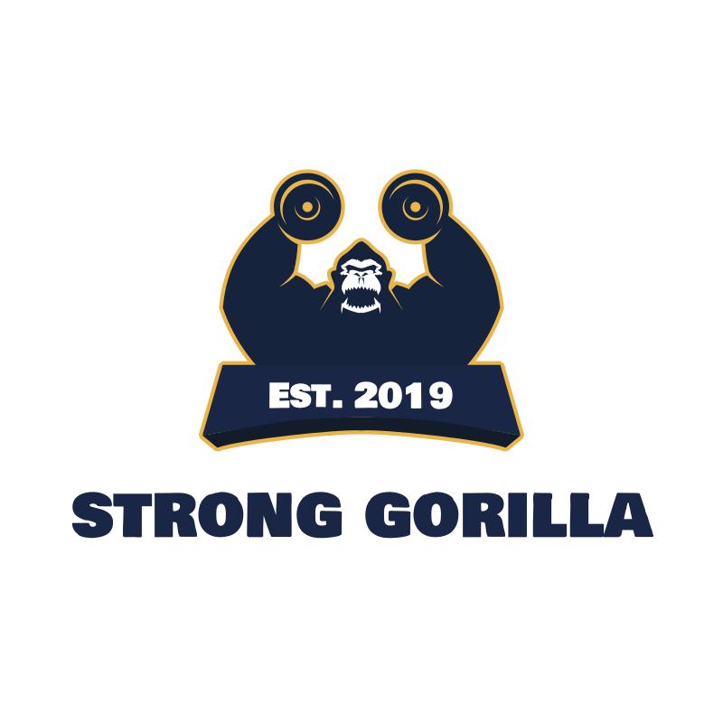 Strong Gorilla Logo Design