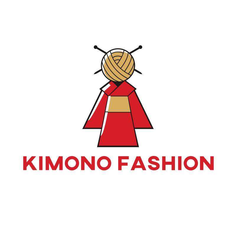 Kimono Fashion Logo