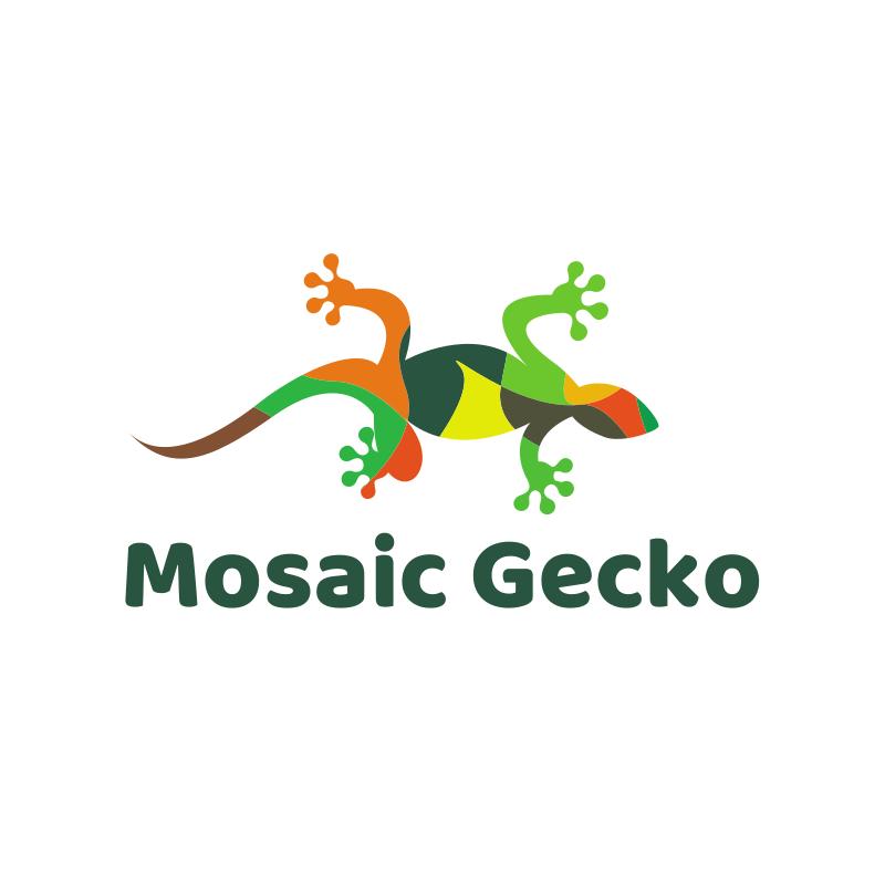 Mosaic Gecko logo
