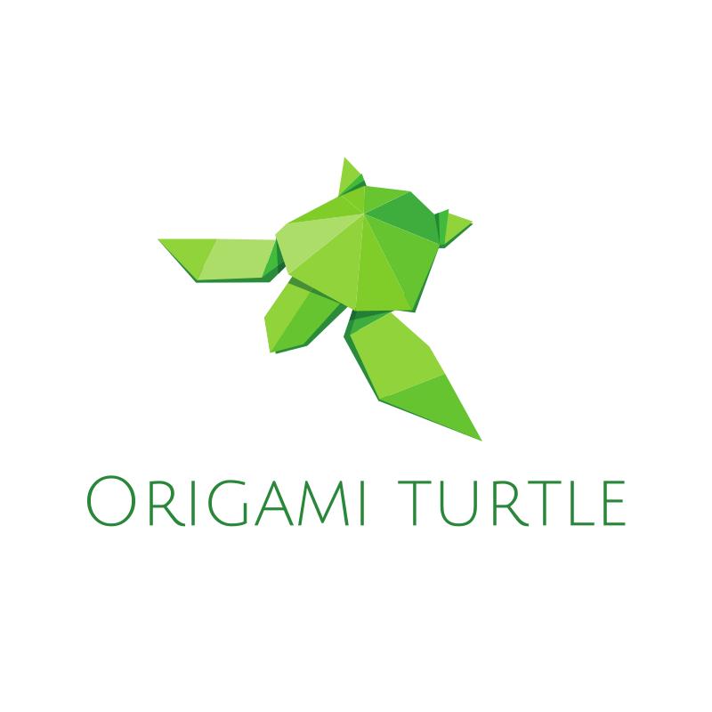 Origami Turtle Logo
