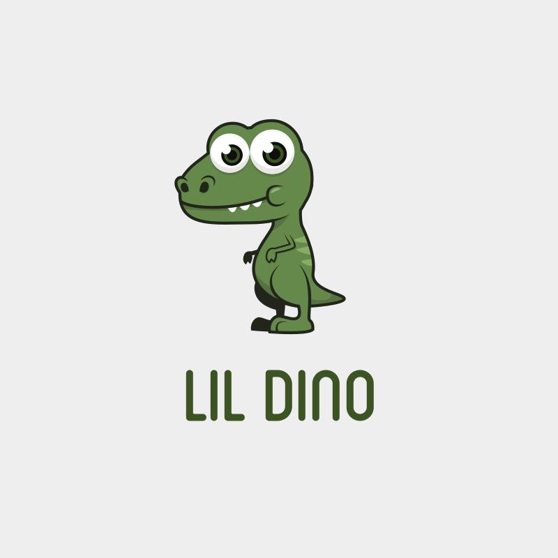 Lil Dino Logo