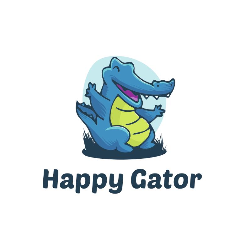 Happy Gator logo