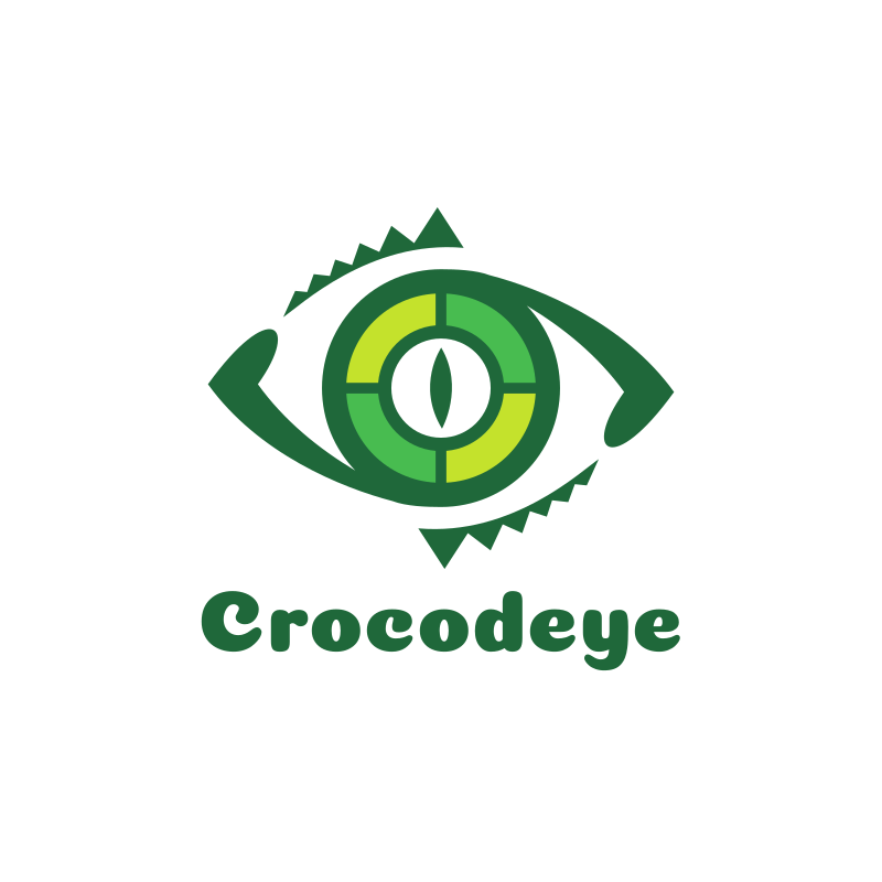 Crocodeye Logo