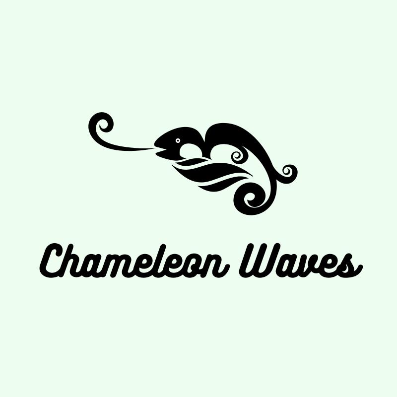 Chameleon Waves Logo