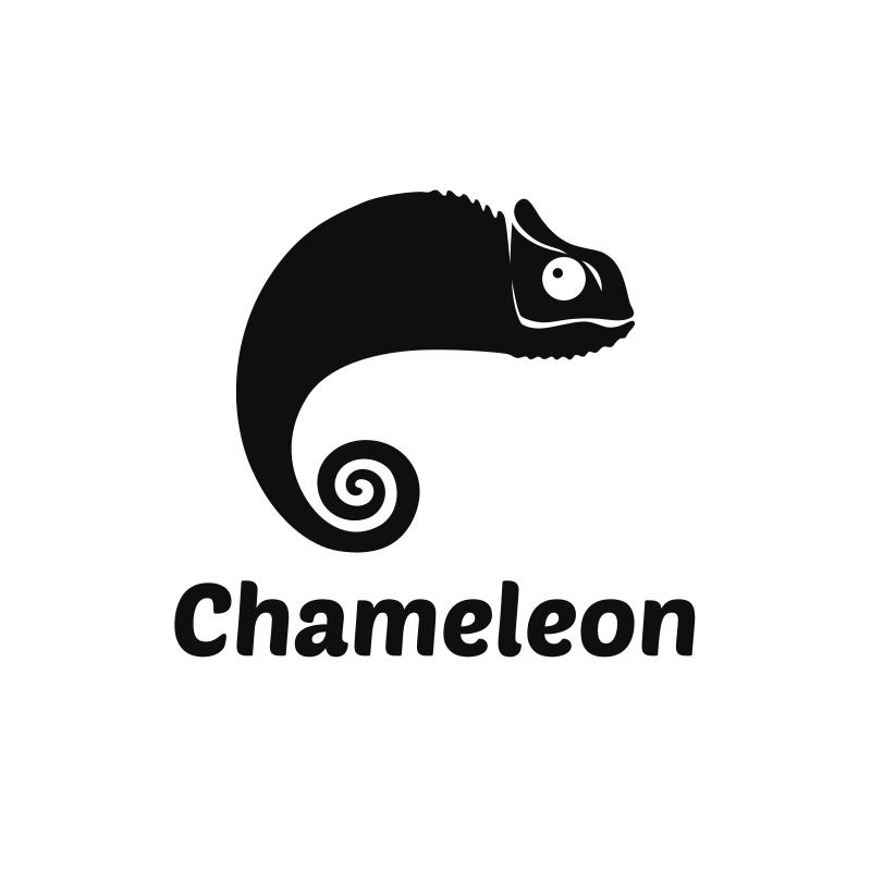 Black Chameleon logo