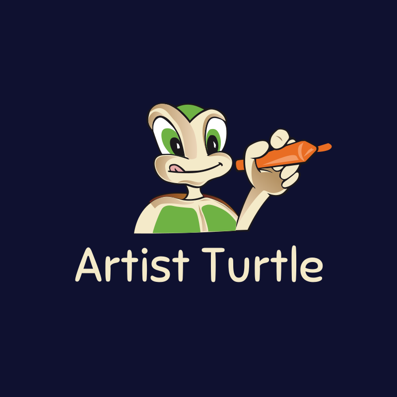 Artist Turtle logo