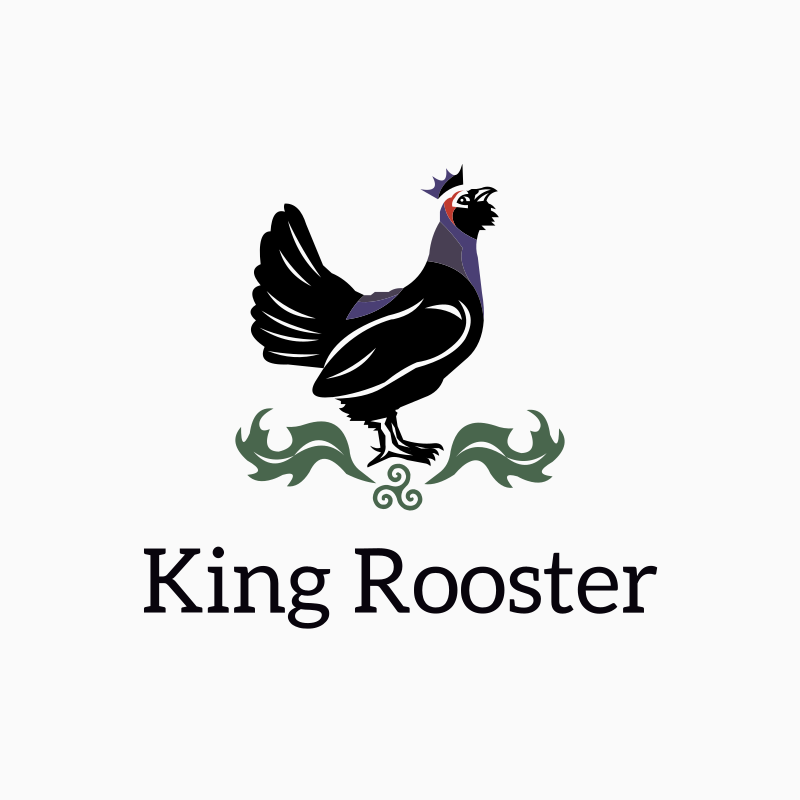 King Rooster Logo