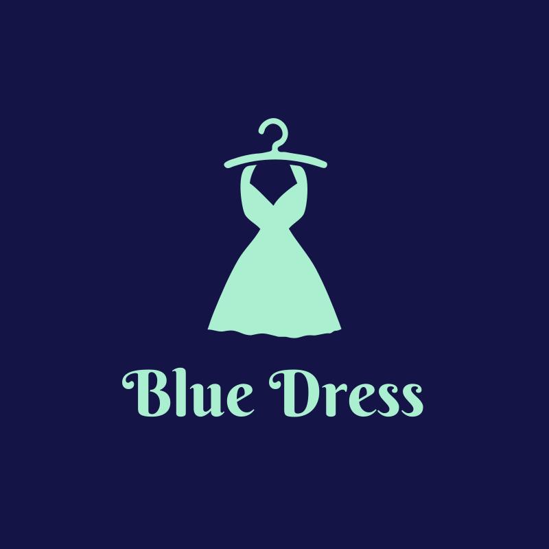Blue Dress Logo
