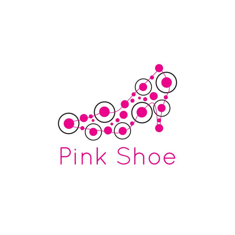 Pink Shoe Logo