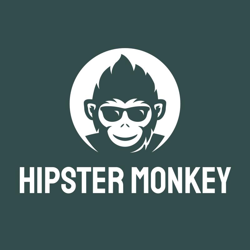 Hipster Monkey logo