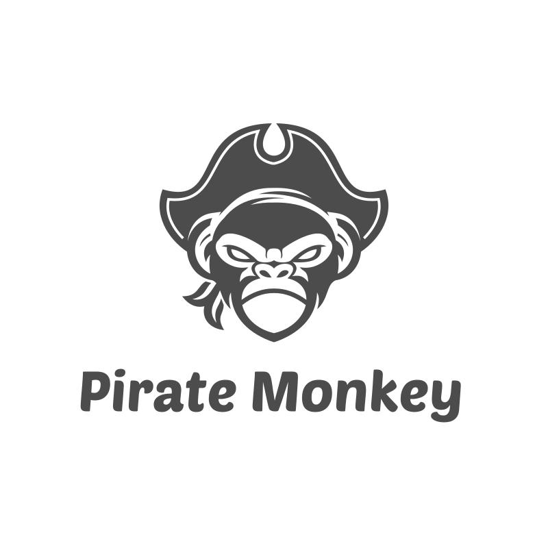 Pirate Monkey Logo