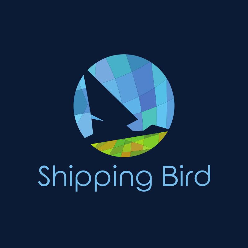 Shipping Bird Mosaic logo