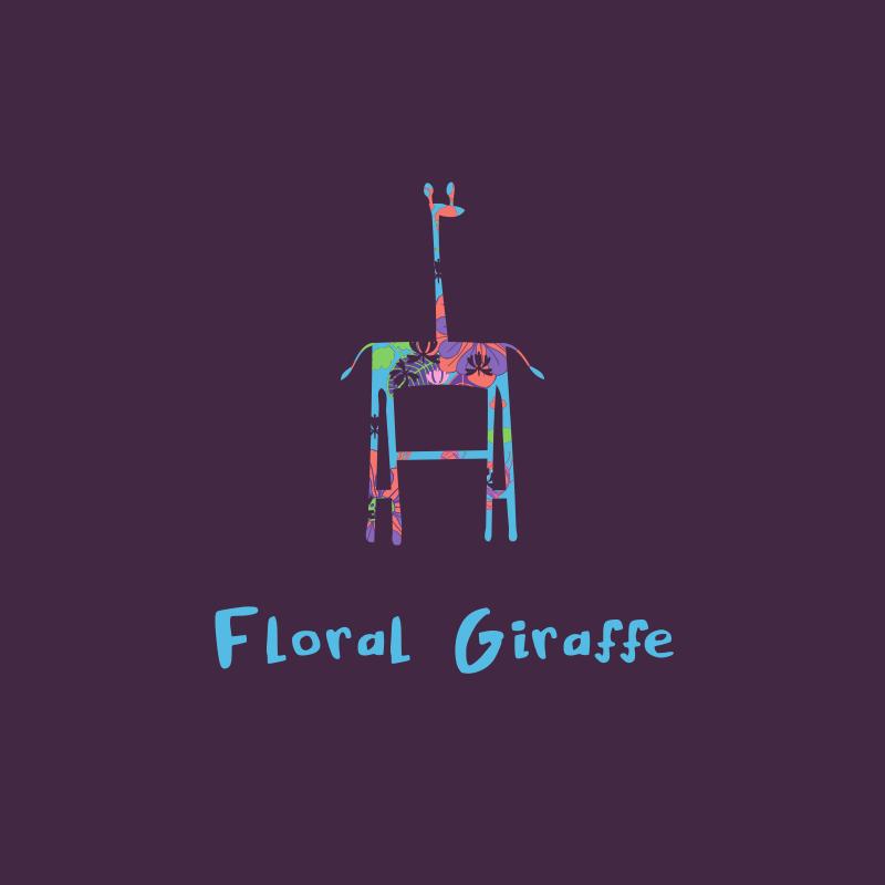 Floral Giraffe logo