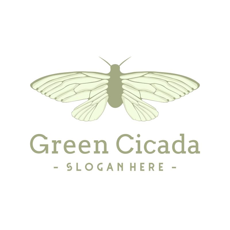 Green Cicada logo