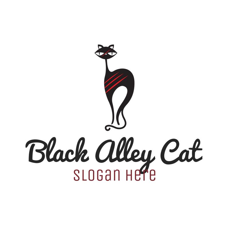 Black Alley Cat logo