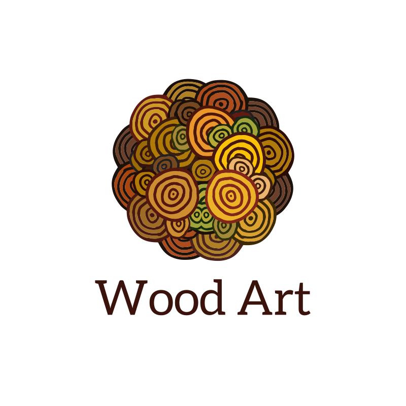 Wood Art Logo