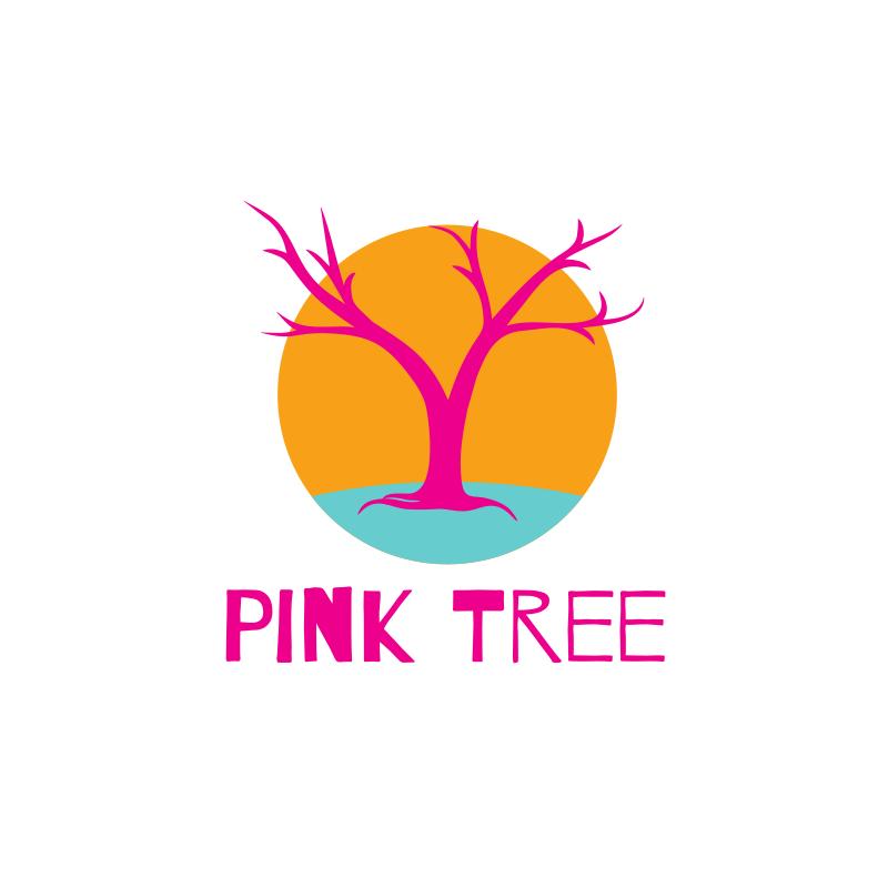 Pink Tree Logo