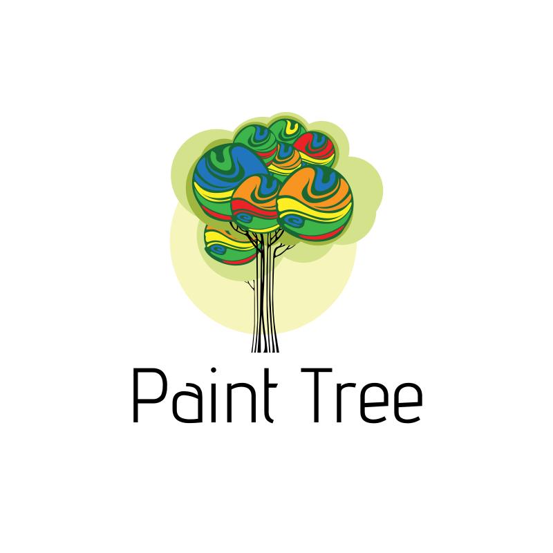 Paint Tree Logo