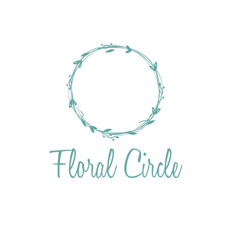 Floral Circle Logo