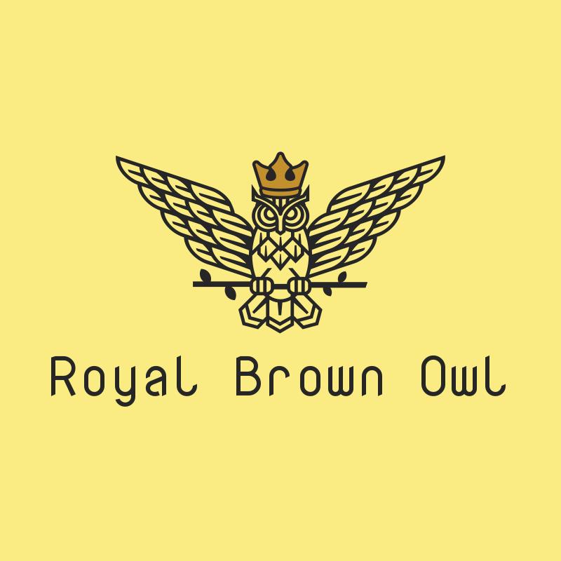 Royal Brown Owl Logo