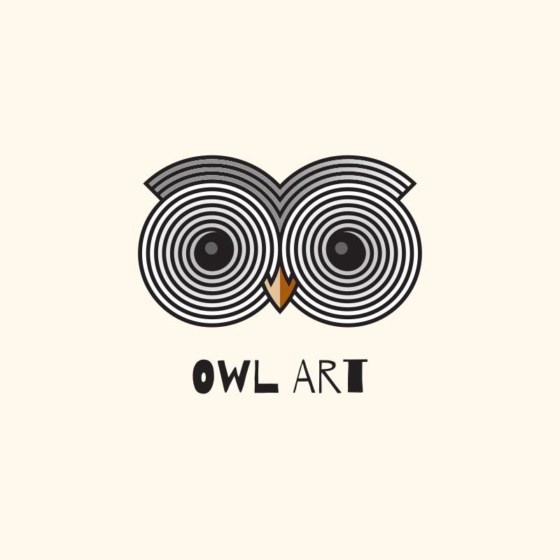 Owl Art Logo
