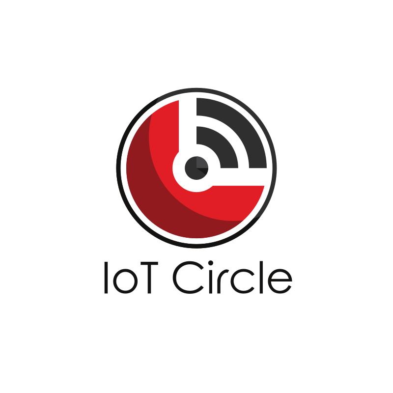 IoT Circle logo design