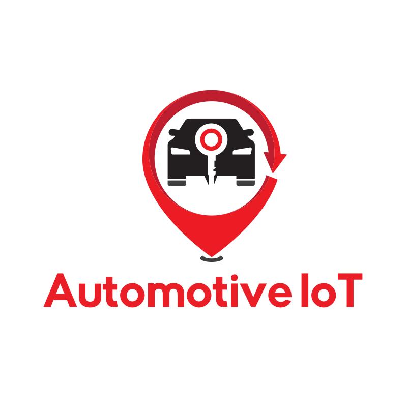 Automotive IoT logo Design