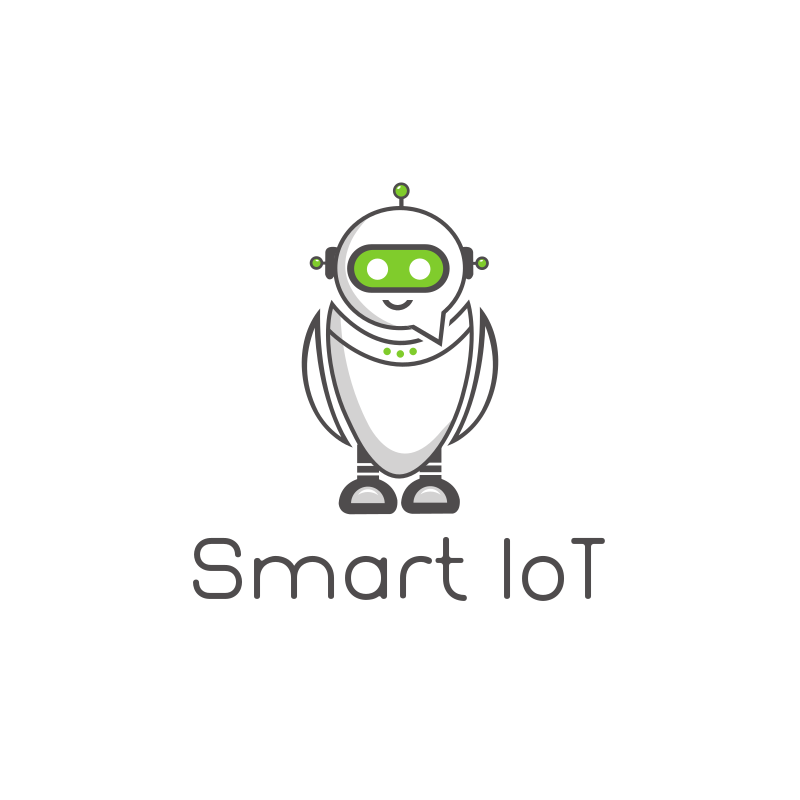 Smart IoT Robot Logo