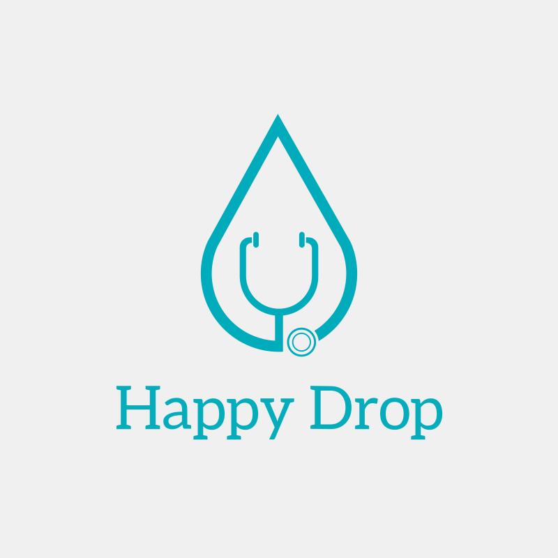 Happy Drop Logo