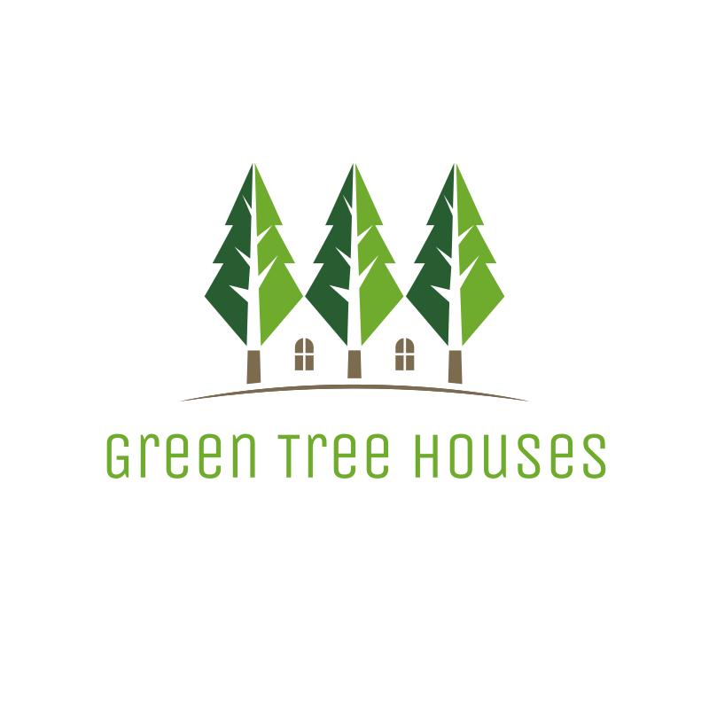 Green Tree Houses logo