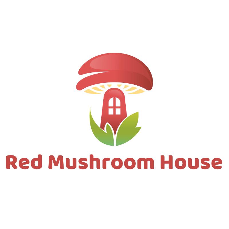 Red Mushroom House Logo