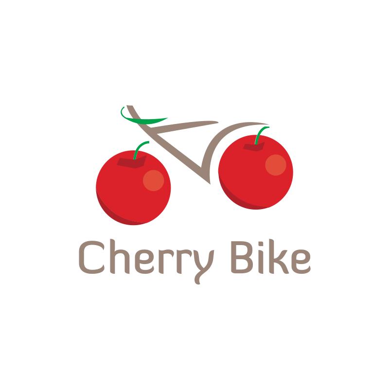 Cherry Bike Logo