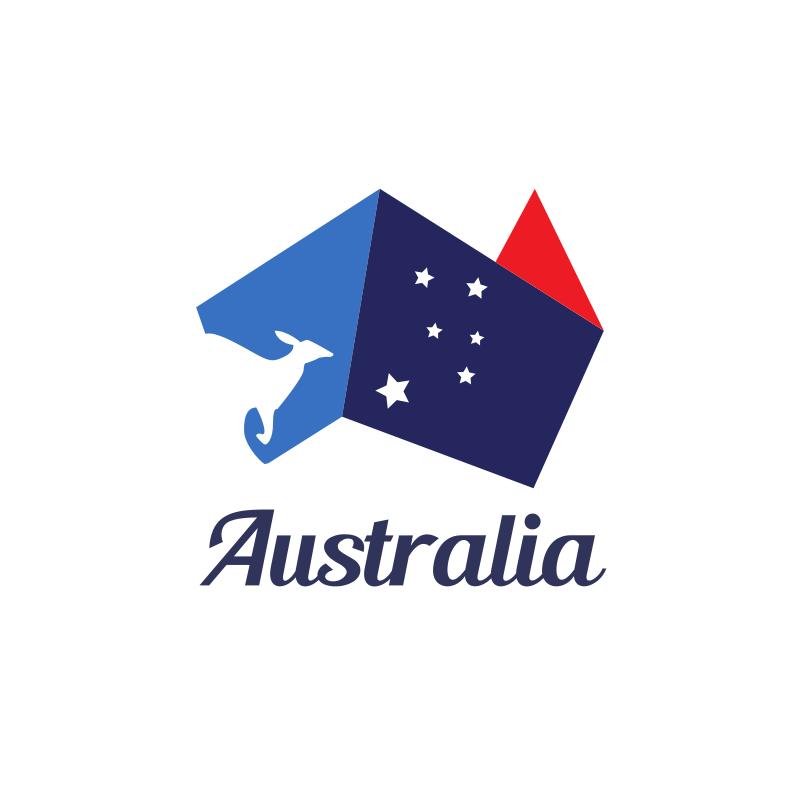 Revamped Australian Flag logo