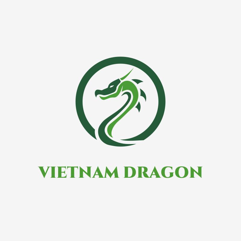 Vietnam Dragon Logo