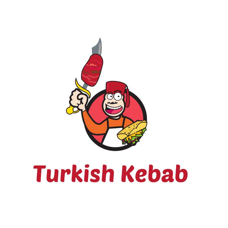 Turkish Kebab Logo