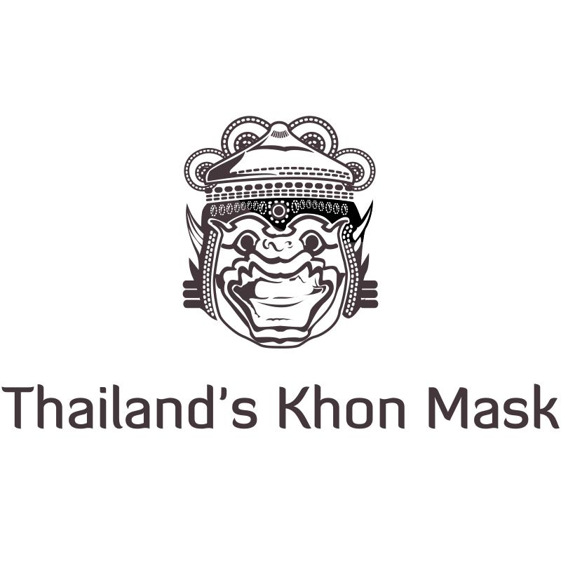 Thailand's Khon Mask Logo