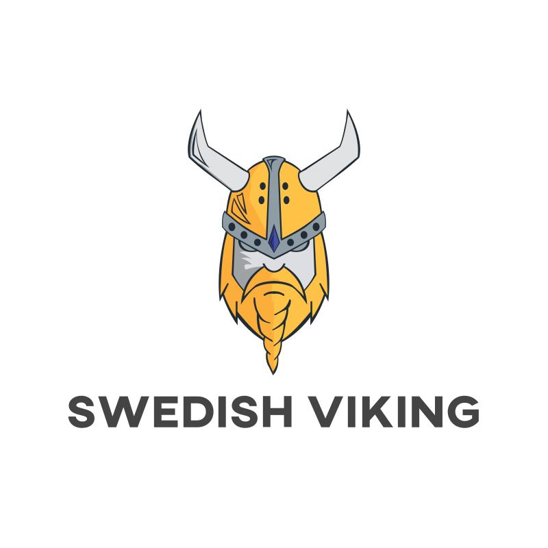 Swedish Viking Logo