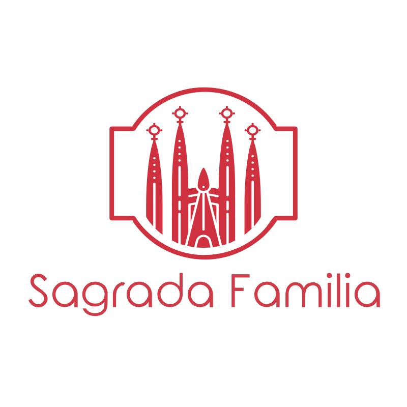 Spain Sagrada Familia Logo